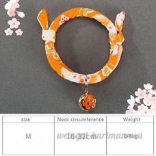 shanzhizui Style rétro Chats Collier Cloches de chat Cercle de chat Corde de chat Collier Fournitures pour animaux Taille réglable  019  L - B07DHZB9XD