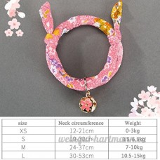 shanzhizui Style rétro Chats Collier Cloches de chat Cercle de chat Corde de chat Collier Fournitures pour animaux Taille réglable  018  xs - B07DHZGZZ1