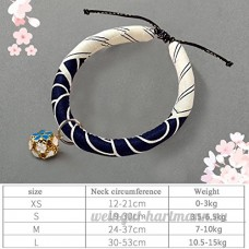 shanzhizui Style rétro Chats Collier Cloches de chat Cercle de chat Corde de chat Collier Fournitures pour animaux Taille réglable  012  xs - B07DHZTDQP
