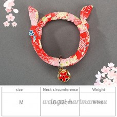 shanzhizui Style rétro Chats Collier Cloches de chat Cercle de chat Corde de chat Collier Fournitures pour animaux Taille réglable  016  M - B07DHZQQ5R