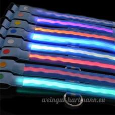 Pet Nuit Sécurité Collier LED pour chien en nylon à LED clignotante pour - B00KBPZCXY