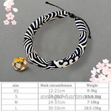 shanzhizui Style rétro Chats Collier Cloches de chat Cercle de chat Corde de chat Collier Fournitures pour animaux Taille réglable  013  S - B07DJ1KFQD