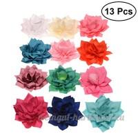 POPETPOP 13 Pcs Mignon Pet Chien Rose Fleur Conception Collar Cravates Chien Cravates Accessoires (Couleur Mixte) - B07DLS87FL