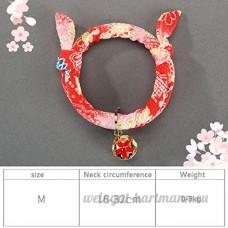 shanzhizui Style rétro Chats Collier Cloches de chat Cercle de chat Corde de chat Collier Fournitures pour animaux Taille réglable  016  L - B07DJ19M3D