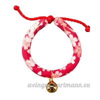 shanzhizui Style rétro Chats Collier Cloches de chat Cercle de chat Corde de chat Collier Fournitures pour animaux Taille réglable  003  xs - B07DJ14XYT