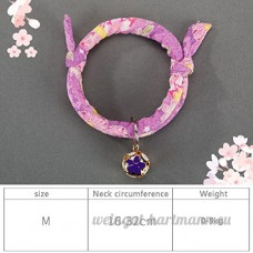 shanzhizui Style rétro Chats Collier Cloches de chat Cercle de chat Corde de chat Collier Fournitures pour animaux Taille réglable  017  L - B07DHZWHZC