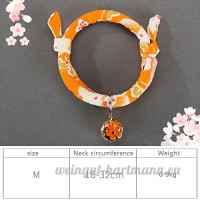 shanzhizui Style rétro Chats Collier Cloches de chat Cercle de chat Corde de chat Collier Fournitures pour animaux Taille réglable  019  S - B07DHZ8WWZ
