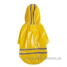 Chien Capuchon Imperméable Chien Veste de protection la pluie - B07C5F39QF