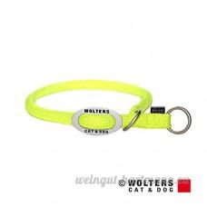 Wolters–Collier semi-étrangleur pour K2Jaune Fluo–Tour de cou 45x 1 3cm - B00LOKIWHS