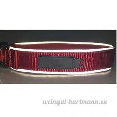 Inconnu Colliers Pour Animaux Domestiques Réfléchissants En Nylon Colliers Réglables Pour Grands Cols Velcro - B07DN7SBML