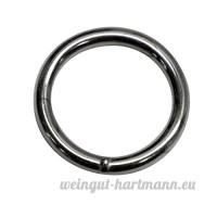 16mm rond (Dimensions intérieures) O bague Anneaux  soudé en acier  en 2 0mm d'épaisseur  nickelé  Lot de 30 - B00YCCE6SY