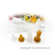 5CC pour animal domestique Chien Chiot Chaton Médecine Feeder Coque en silicone seringues Lait et de l'eau d'alimentation pour outil - B06XG63NSQ
