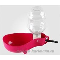 IshowStore pliable pour chien Distributeur de bouteille d'eau potable sans déborder pour animal domestique Chat Plume pour Voyager - B01JI9DAFU