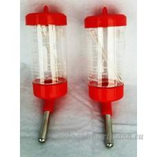 Happy Home Products Bouteilles d'eau de 80ml X 2Pour petits hamsters souris 14cm - B01HU2ZTBK