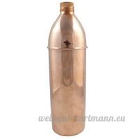 Conception Traditionnelle Indienne Eau Cuivre Bouteille Avantages Ayurvedic Health Flask - B01CQP2FHC