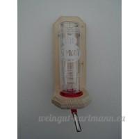 Porte bouteille–nipelt Serveur en bois d'épicéa massif + CLASSIC® Gourde 0 75ml - B01BLU9WCY