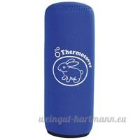BEEZTEES Protection Thermo Bouteille à Boire pour Animaux de Compagnie Bleu 320 ml - B00GLSUEX8