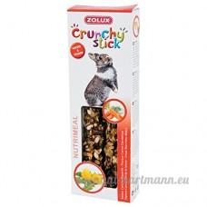 Zolux Crunchy Stick Lapin Carotte/Pissenlit 2 Pièces - B014XATU30
