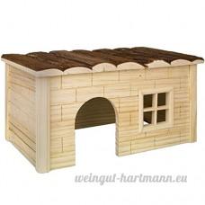 Nobby Woodland-hanni Maisonnette en Bois pour Rongeur 28 x 18 x 16 cm - B00NHTU7XQ