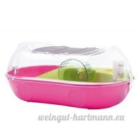Savic Entry Spelos Cage pour Hamster Transparent/Couleur Assorti 59 x 37 x 26 cm - B00Z60CN40