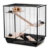 Little Friends Grosvenor Cage à rat et hamster avec étagère en bois et échelle - B005CAYZ4A