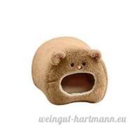 ULTNICE Hamac de peluche pour le lit accrochant chaud de hamster BEAR Toy House - B077TNXDPN