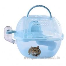 Yunt Cage pour Petit Animal Cage de Hamster (Bleu) - B073CZVVZB