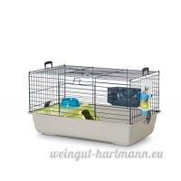 BEEZTEES Nero 2 Deluxe Cage pour Rongeur Gris 80 cm - B009EYDBJ0