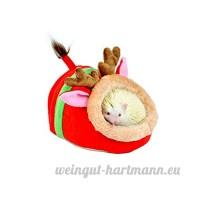 Aquiver - Lit rembourré pour petit animal - Pour les rats  hérissons  écureuils  cochons d'Inde - B075SXPHSS