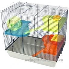 DUVO 493/313 Cage à Hamster avec Accessoire Amusant Grand - B01N6GOCIS