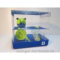 Grande cage Penthouse à 2 ou 3 niveaux pour hamster ou petit animal - B00PY774JY