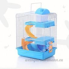 Etbotu 3-storey pour animal domestique Hamster Maison de luxe Portable souris Home Décoration de l'Habitat - B07BMR65J6