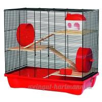 Kerbl Hamster 12 - Cage pour hamster - 3 étages - Accessoires - 58 x 32 x 54 cm - B002CX0BC0