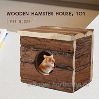 en bois Cage pour hamster Maison pour rongeurs pour petit animal Animal - B071NW2ZG6