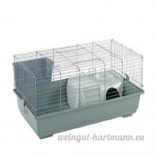 Little Friends Cage à lapin Argenté 80 cm - B00DPJ74Q6