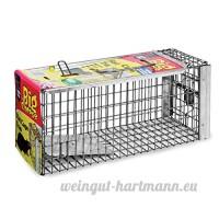 Le piège de cage de rat de grand fromage (grand  humain  piège de capture-vivant  utilisation à l'intérieur et à l'extérieur dans les jardins) - B000QVSCH6