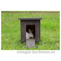 Animalis Maison de Lapin Gris - B07DMNQP8C
