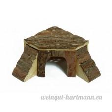 Karlie 84281 Maison pour rongeur en bois avec 1 ou 2 rampes 4 dimensions disponibles - B00140QJUU