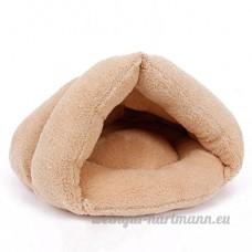 UEETEK Pet Dog Puppy Cat Kitten Chihuahua Soft Cotton Bed House Sleeping Bag - B075L9NPHS