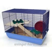 Skyline Special Edition Cage à hamster Base bleu clair - B00ABG7G3W
