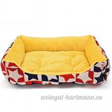 Wenl Chenil Chien Lit Lavable Non-Bâton Chien Fourrure Coussin - B07D3RG9BP