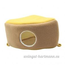 non-brand MagiDeal Hamac de Hamster forme en Gâteau en Polaire Coussin Lit Couchage pour Petit Animaux - B07CV1FPNY