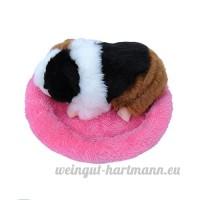 Lazzykit Litière pour Hamster Coussin Niche à Lapin Lit Maison Nid Animal Cochon d'Inde - B07CTNM9RT