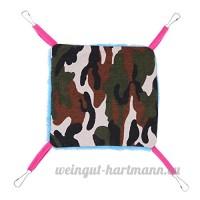 vanpower Hamster oiseaux hamac double couche ¨¦cureuil lit suspendu - B07CXQ38NH
