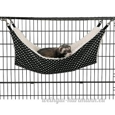 Pomelol Pet Cage Hamac à pois Petit Animal Chien Chiot Animal domestique Kitty chaton Furet à suspendre Hamac Lit Sleepy Pad Doudou - B07C9MYTRG