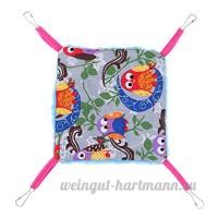 La Cabina Chaud Pet Hamac écureuil Accrochant Lit Maison Tapis Hamster Couverture Nid pour Petit Animaux Nid Hérisson Chinchillas - B07BRRDDG1