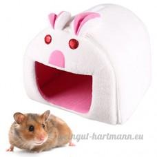 Petit Lit Animal  Legendog Hamsters Lit Mignon Pliable Nid D Animaux de Compagnie pour Les Lapins Rats Perroquets S - B07BLTPXQT