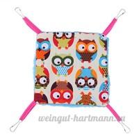 vanpower Chaud Pet Cat hamac ¨¦cureuil accrochant lit maison tapis Hamster couverture nid - B07CXFLYGJ