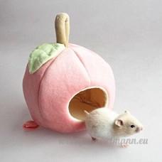 HYGMall 1 PC Plush Hamac pour Hamster Chaud Suspendus Chaude Doux Lit pour Rat Pomme Cotten Lit Pour Petits animaux (Rouge) - B07C7BK4FV