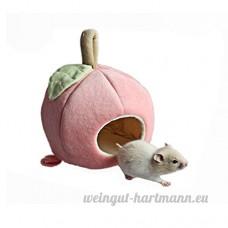 Linge de lit  DE Hamster chinchilla Cage Accessoires Hamac  maison du Hamster Jouets pour petits animaux Sugar Glider écureuil chinchilla Hamster Rat jouer de couchage - B07BN96X5R